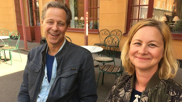 Ulf Mörkenstam och Ragnhild Nilsson
