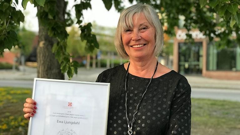 Ewa Ljungdahl fick SSR:s hederspris 2018