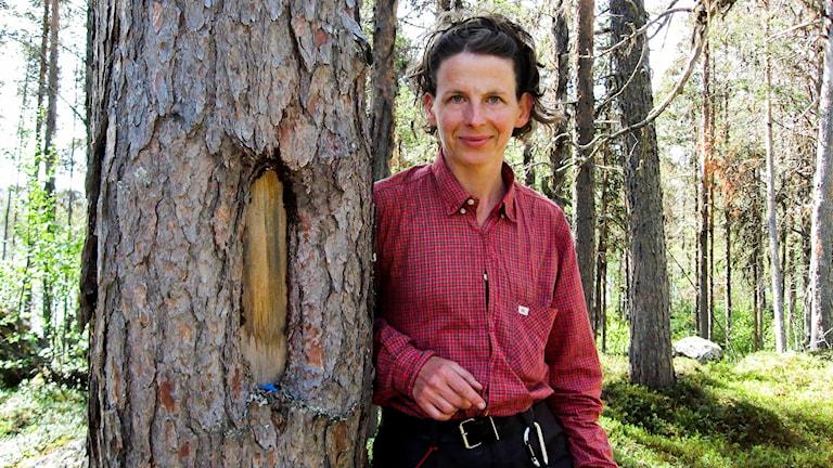 Biologen Weronika Axelsson Linkowski