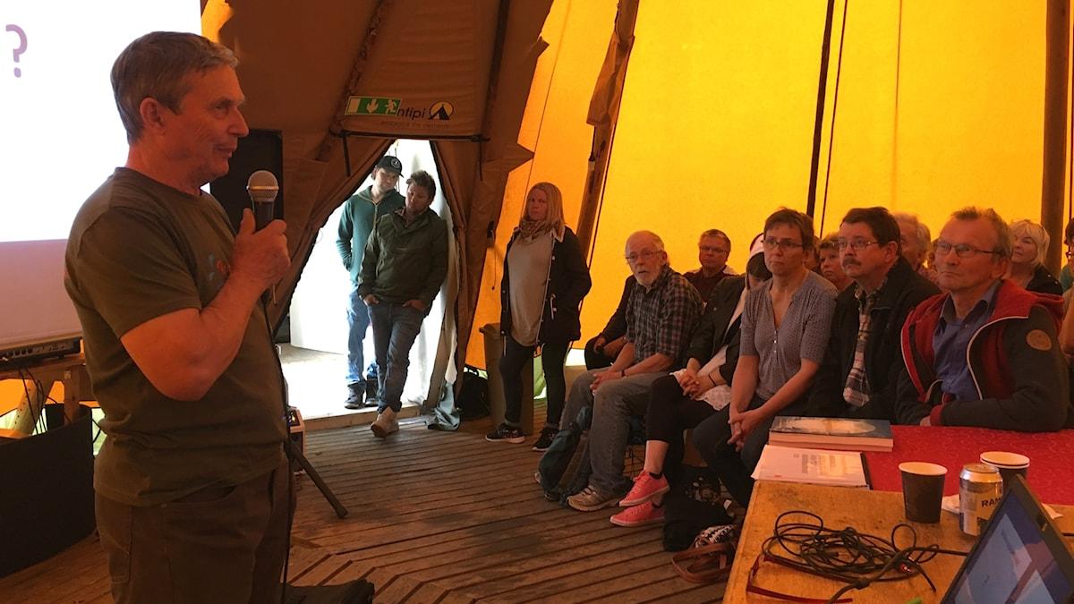 Johannes Marainen. Foto: Anne-Maret Blind Sameradion & SVT Sápmi