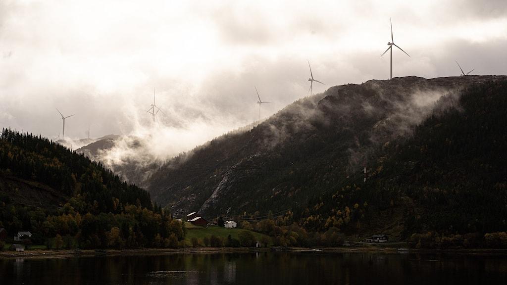 Vindkraftverk i Norge