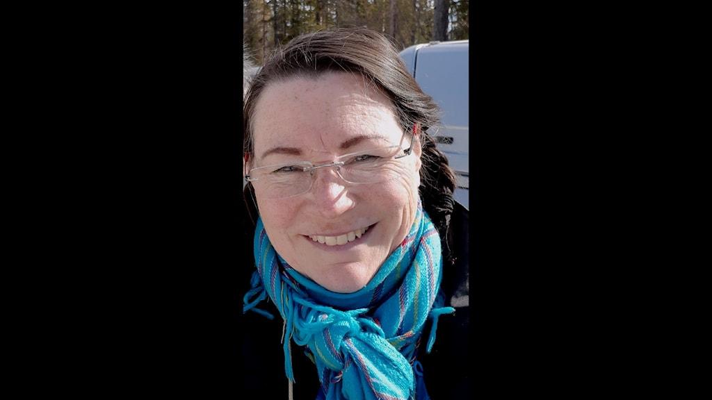 Anna Pittja Granlund, ny ordförande för samiska minnesfonden.