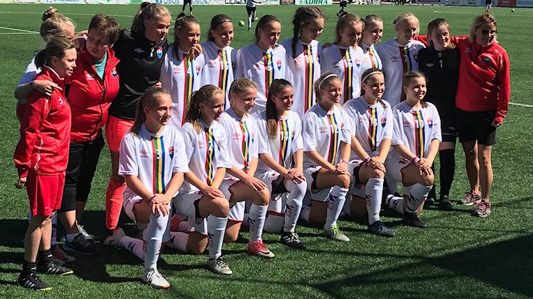 Sápmis tjejer 17 år under 2019 års PSG