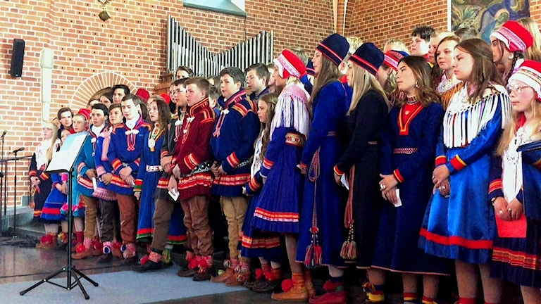 Samiska konfirmationen i Burträsk 2018