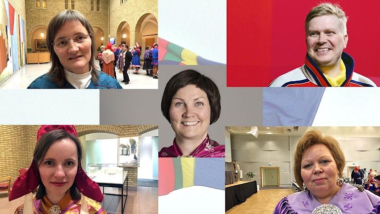 Presidentkandidaterna till Sametinget i Norge 2017