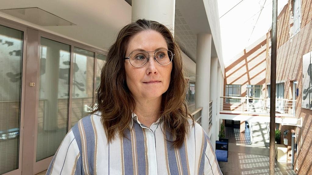 Christina Allard, biträdande professorn vid LTU.
