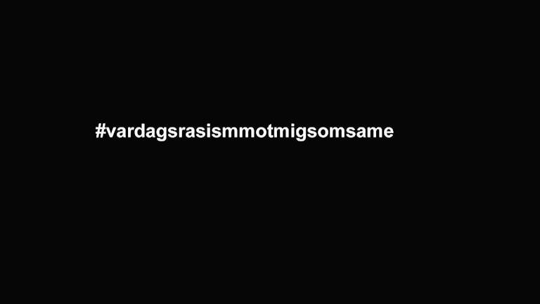 #Vardagsrasismotmigsomsame är en av de hashtags som används i vår satsning om vardagsrasism mot samer.