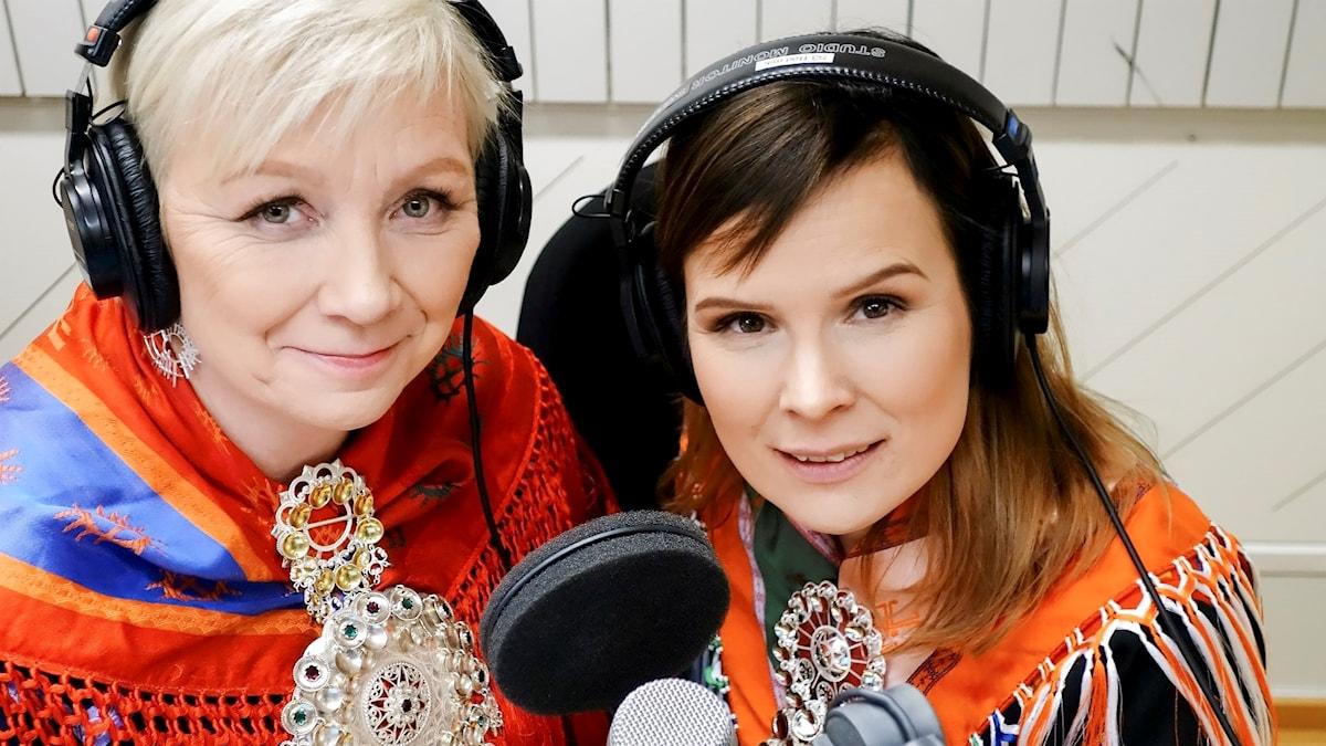Karen Eira och Linda Marakatt.