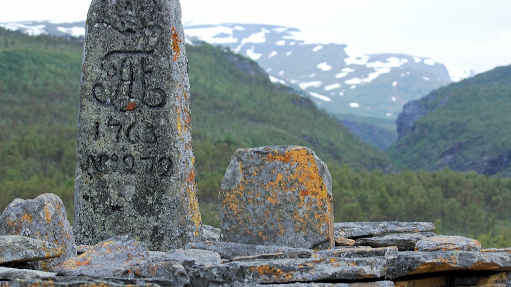 Riksröse i Kiruna kommun.