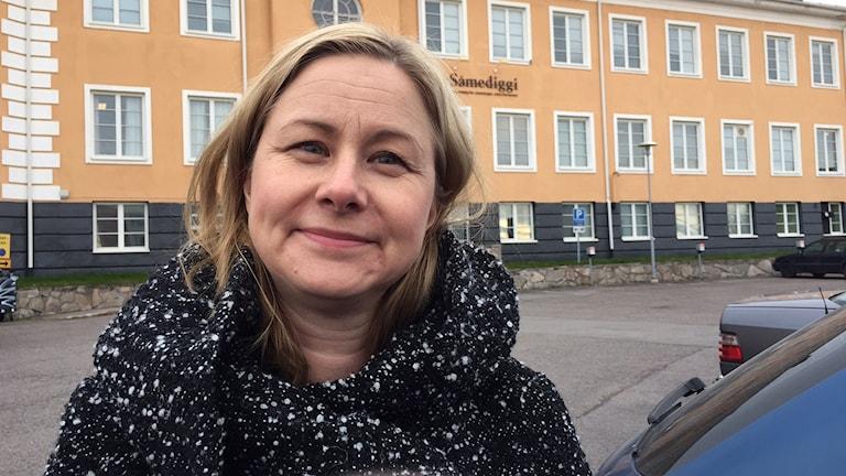Statsvetaren Ragnhild Nilsson.