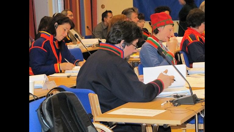 Inget beslut om sametingetsparlamentshus i dag. Foto: Kristina Nutti, SR Sámi Radio