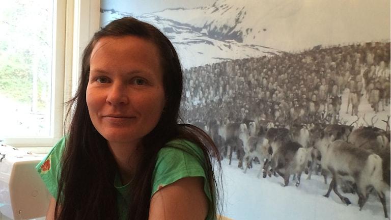 Lena Viltok Foto: John Kuoljok