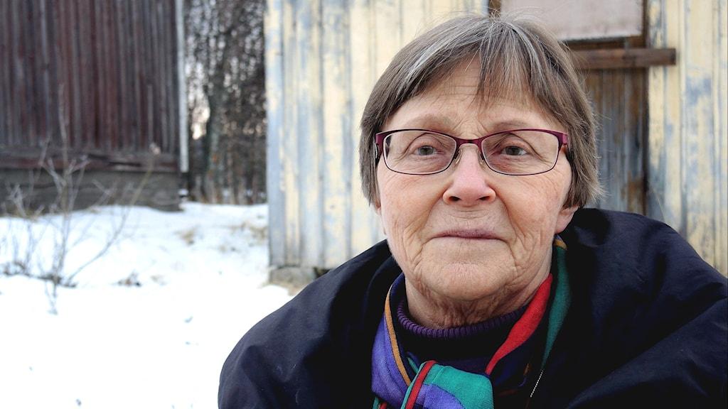 Sagka (Sigrid) Stångberg. Foto: SR Sameradion