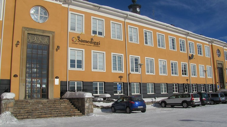 Sametinget i Kiruna. Foto: Frida Fernqvist