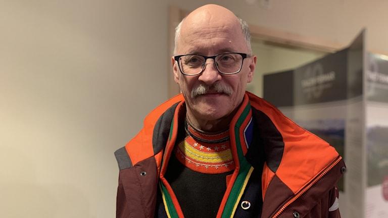 Jan Rannerud, partiledare Skogssamerna-Vuovdega.