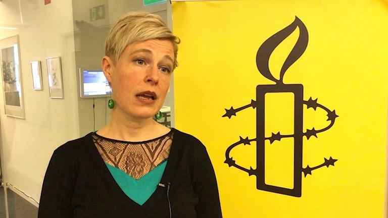Johanna Westeson, Amnesty.
