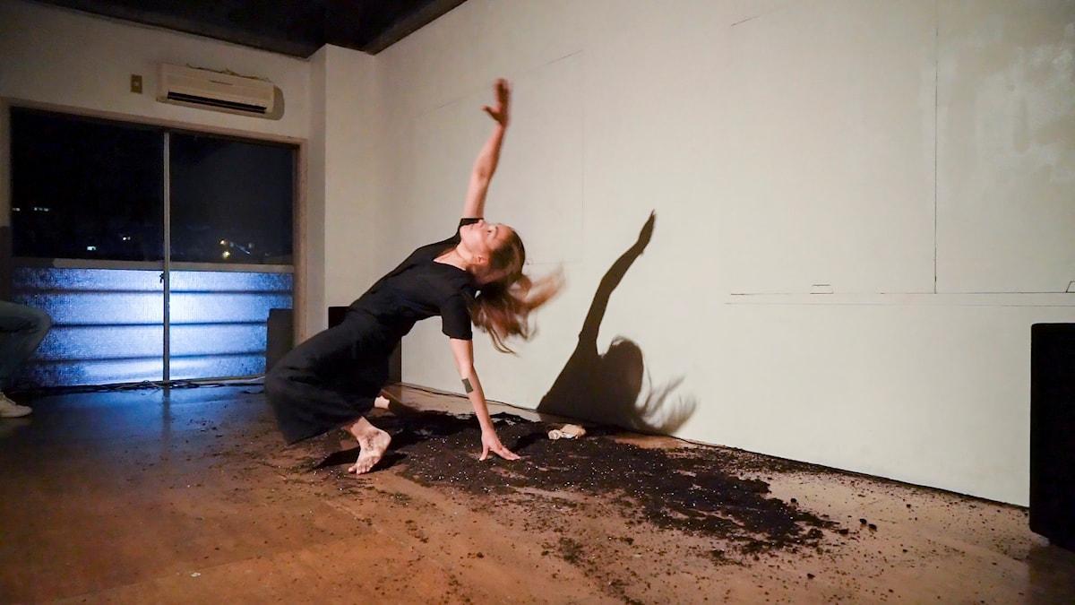 Marit Shirin Carolasdotter vill med dans knyta samman samer och ainufolket.