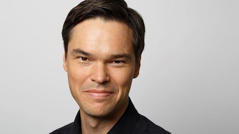 Miljöanalytiker Andreas Gyllenhammar. Foto: SWECO