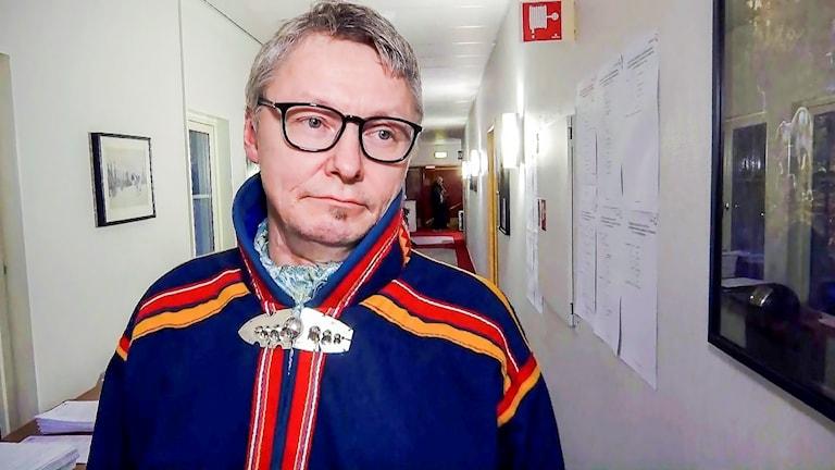 Sametingets styrelseordförande Per-Olof Nutti.
