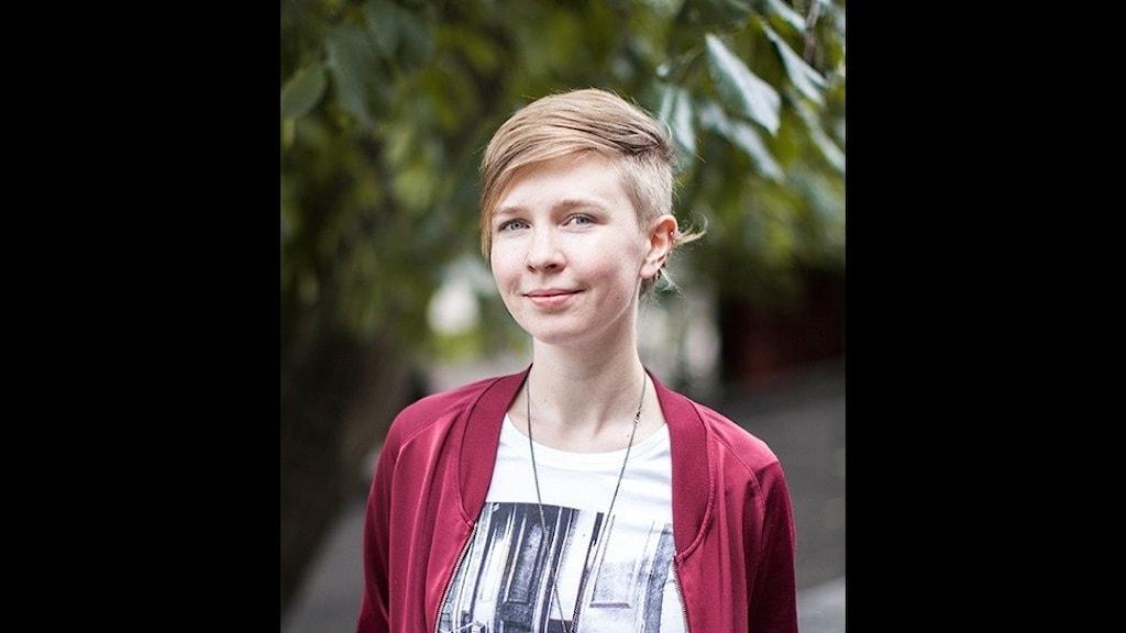 Johanna Wikberg, präst och engagerad i HBTQ-frågor.