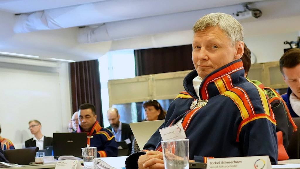 Sametingets styrelseordförande Per-Olof Nutti vill ha ett eget möte med ministern.
