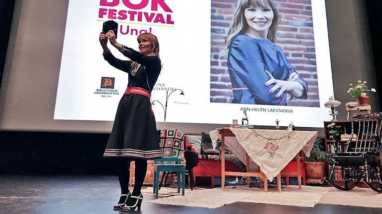 Ann-Helén Laestadius Kiruna Bokfestival