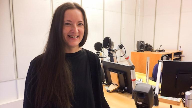 Katarina Hällgren är ny chefredaktör för ungdomstidningen Nuorat