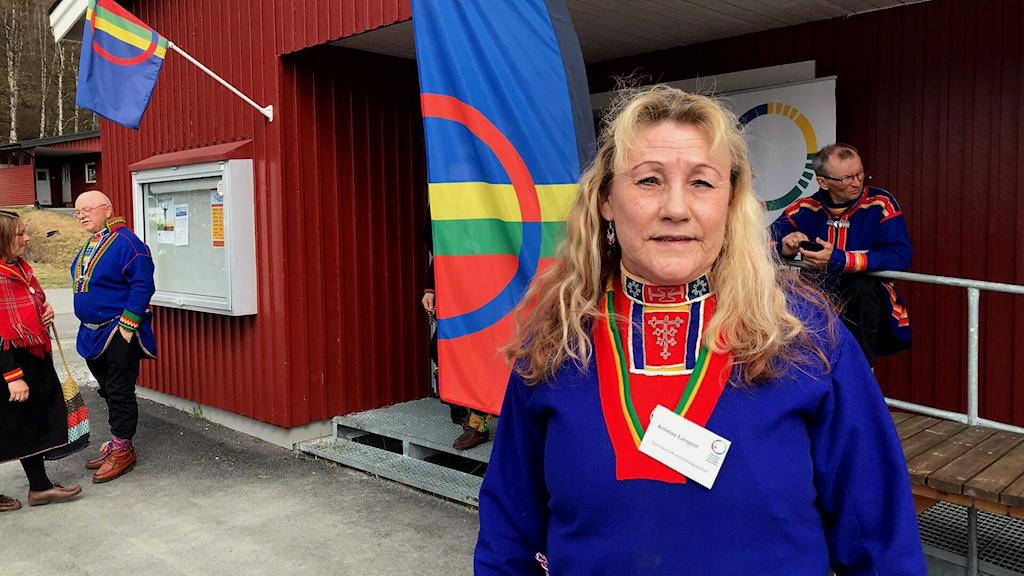 Kristina Larsgren, Samiska folkomröstningspartiet, meddelar att partiet inte ställer upp i valet 2021.