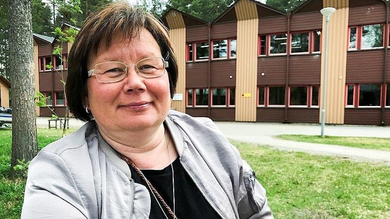 Britt-Inger Tuorda rektor vid Samernas utbildningscentrum.