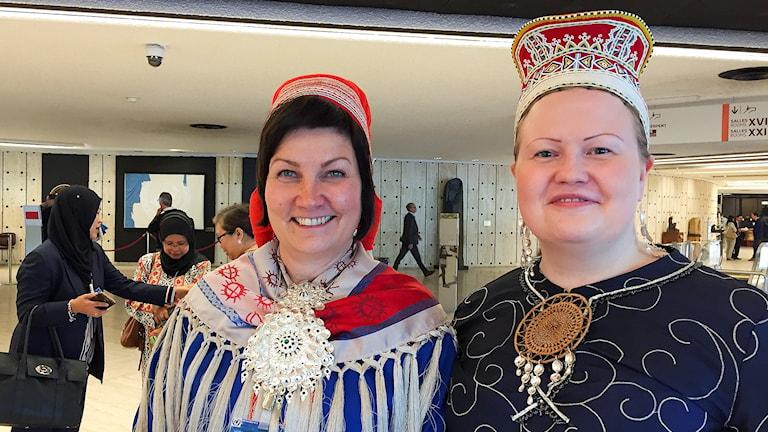 Aili Keskitalo och Tiina Sanila-Aikio