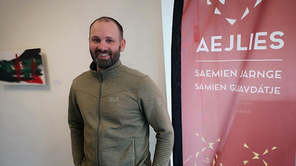 Oscar Östergren Njaita på Aejlies i Tärnaby.