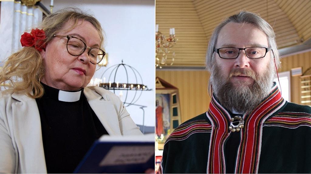 Birgitta Simma och Bjarne Gustad