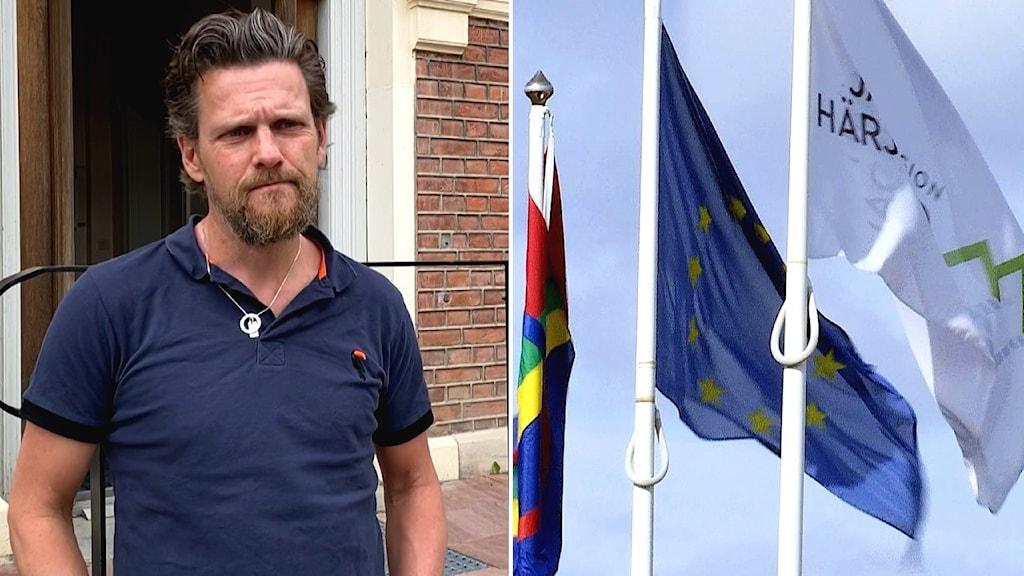 Jerker Bexelius, annsvarig för samiska utvecklingsstrategin i region Jämtland/Härjedalen