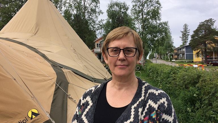 Lisa-Gun Bernerstedt, avdelningschef för kyrkokansliet i Uppsala