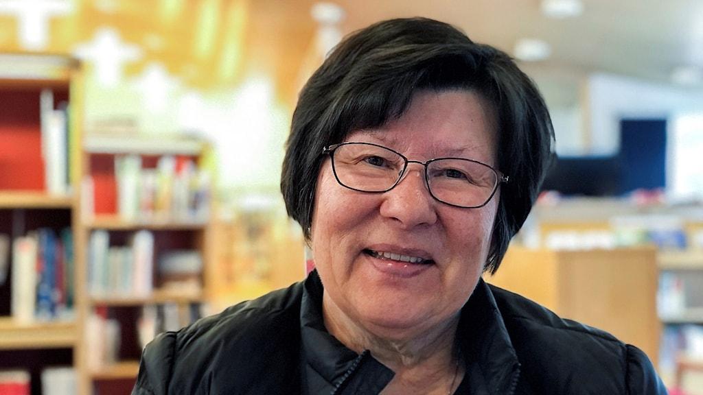 Ingrid Inga, ordförande i Sametingets kulturnämnd.