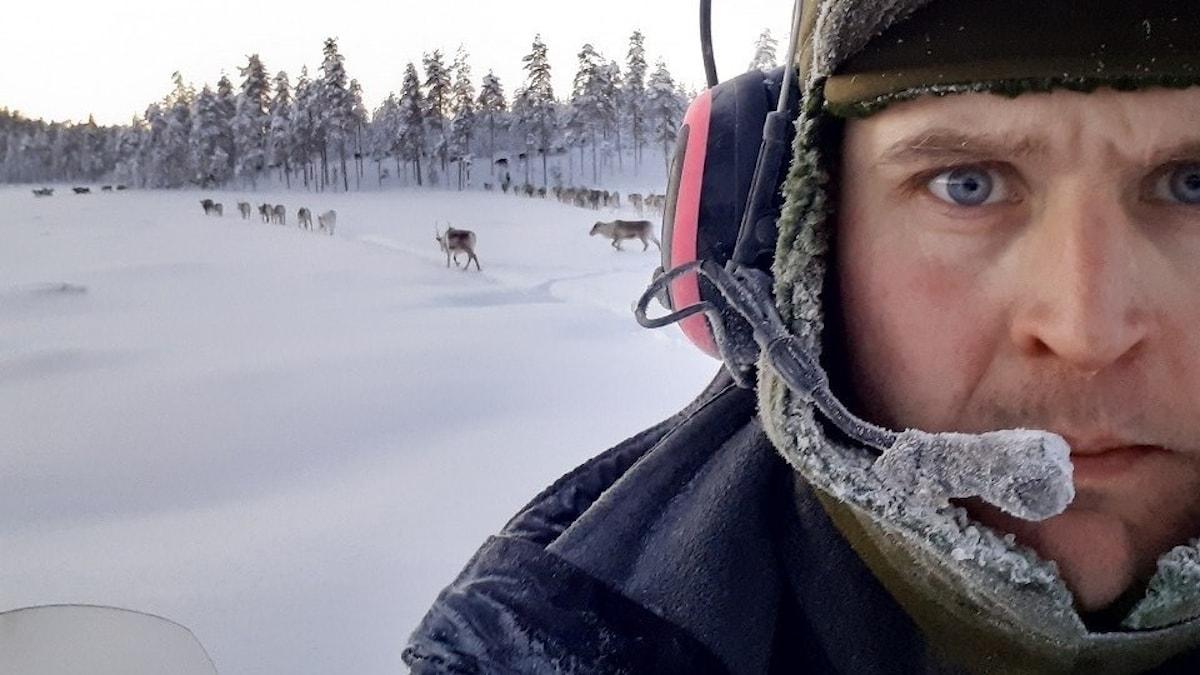Johan Lund, tidigare koncessionshavare i Kalix koncessionssameby.
