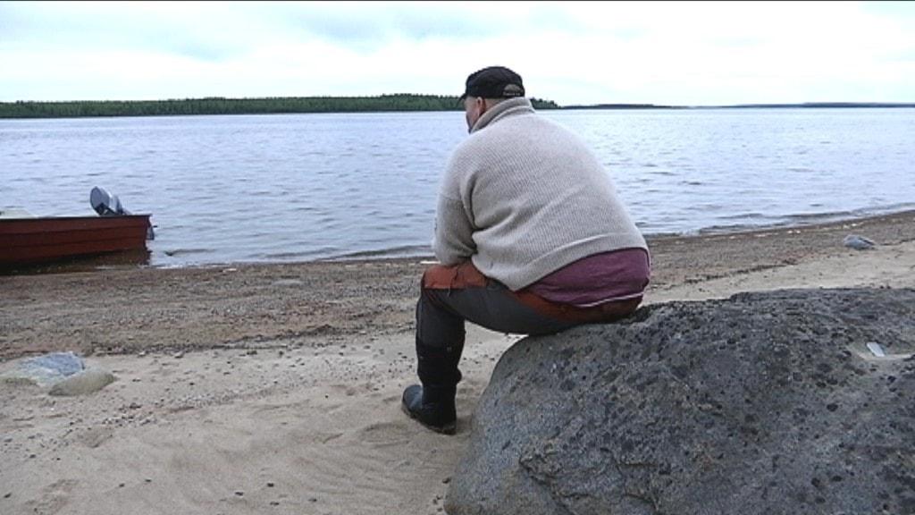 Henrik Andersson, Gällivare skogssameby, slipper böter för renar i Luleå skärgård.