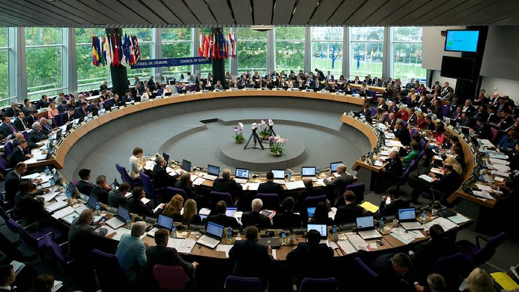 Europarådet i Stasbourg. Foto: Ellen Wuibaux/Europarådet.