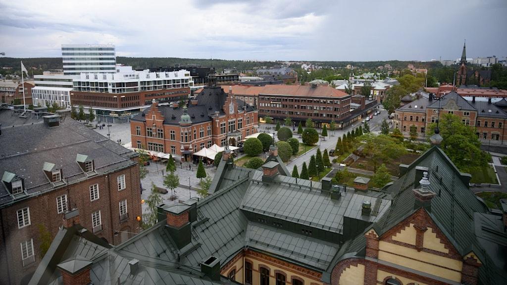 Umeå centrum.