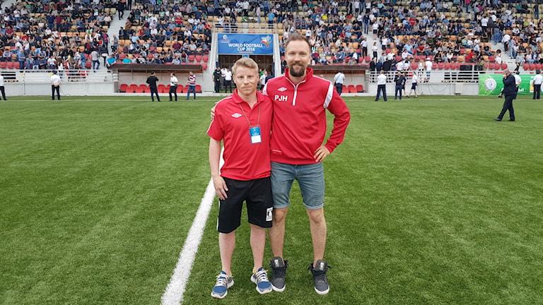 Per-Anders Pokka och Pär-Jon Huuva, FA Sápmi spelare