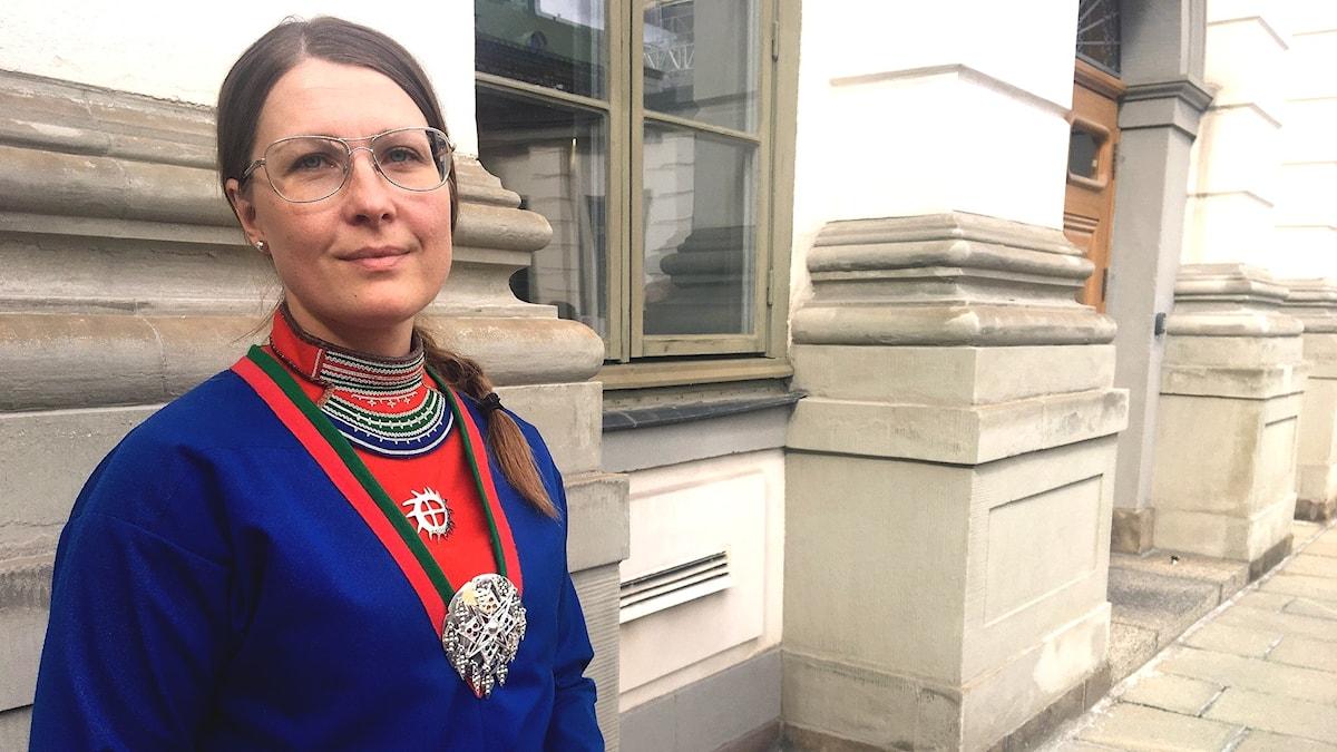 Åsa Larsson Blind, ordförande i Svenska samernas riksförbund.