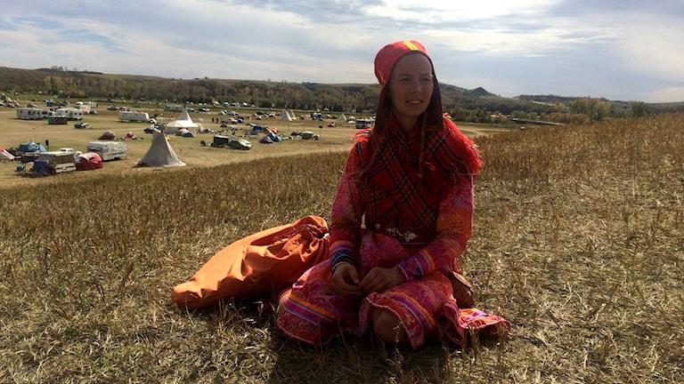 Artisten Sofia Jannok i North Dakota
