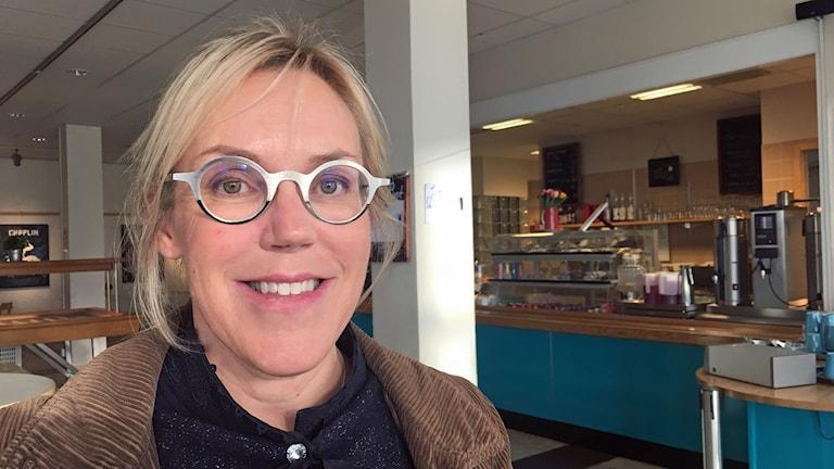 Åsa Larsson, ambassadör för Kiruna Bokfestival