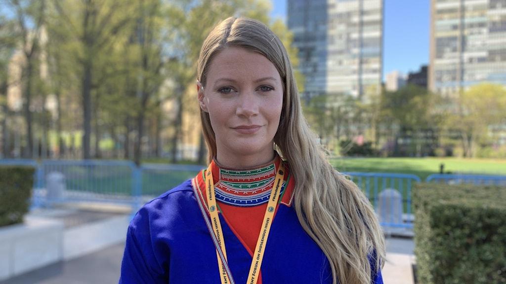 Josefina Skerk daglig ledare för Sijti Jarnge, Hattfjelldal