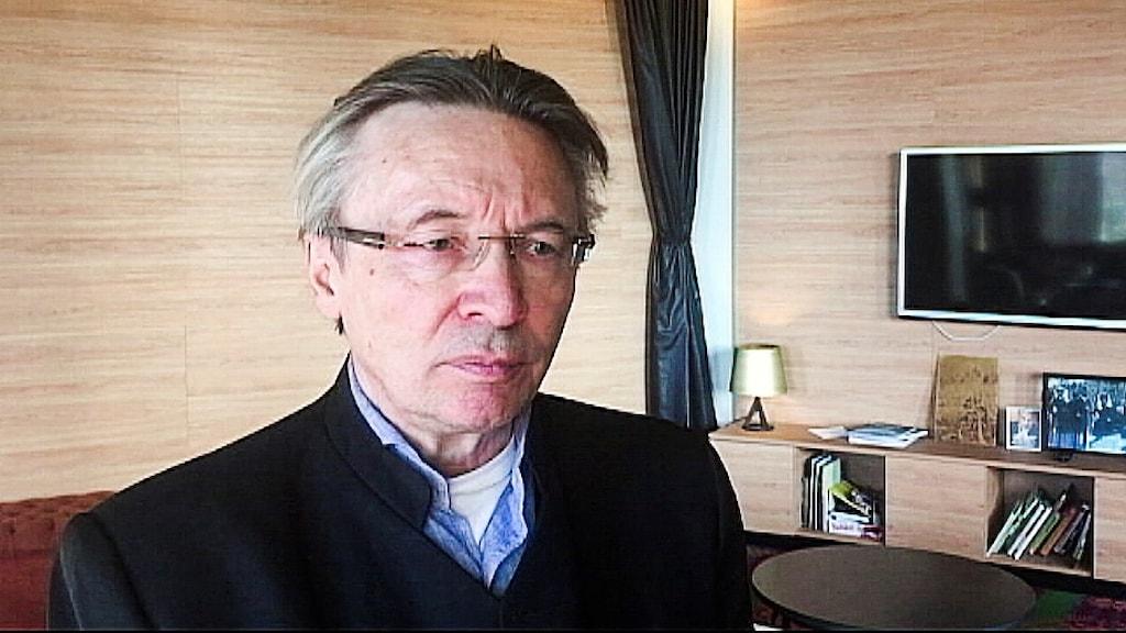 Lars-Anders Baer,  ordförande i Luokta Mavas sameby.