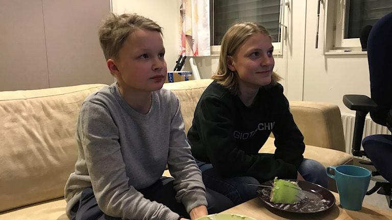 Jon Mattias Klemensson ja Niklas Kitok