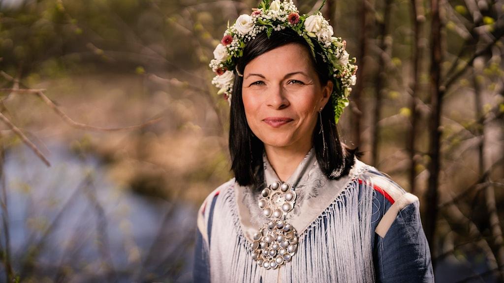 Elin-Anna Labba, en av årets sommarvärdar 2021.