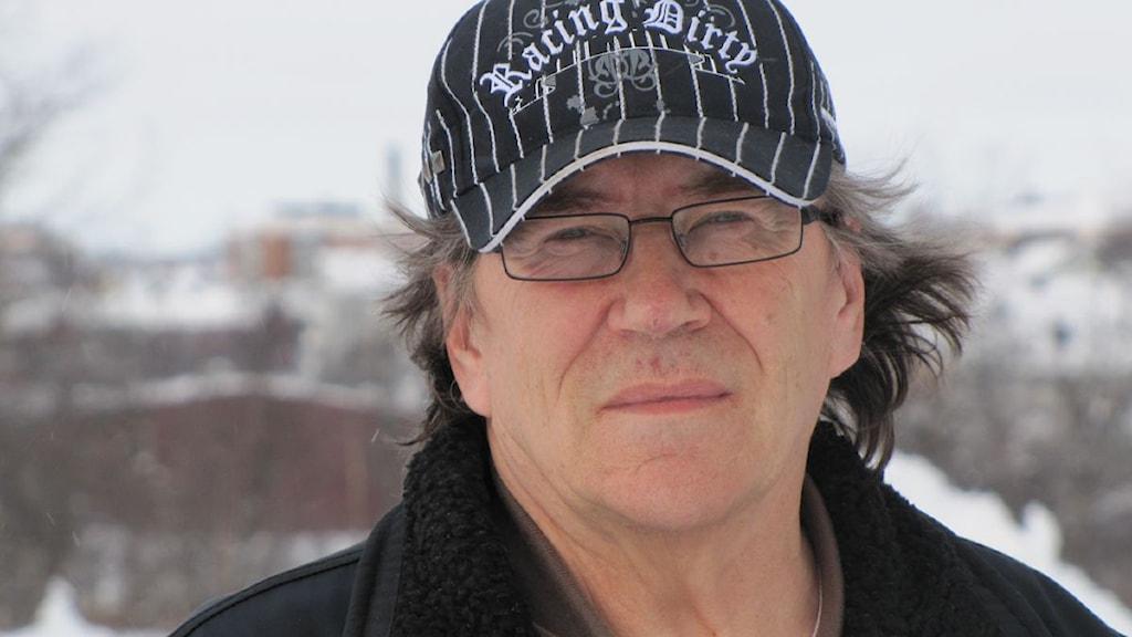 Henrik Päiviö tillbaka i Kiruna efter skoterturen på 298 mil.