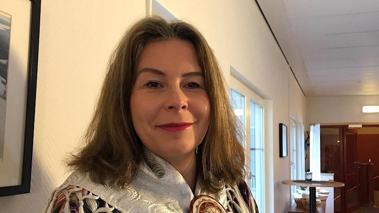 Marianne Lörstrand, ersättare i Sametinget för Guovssonásti.
