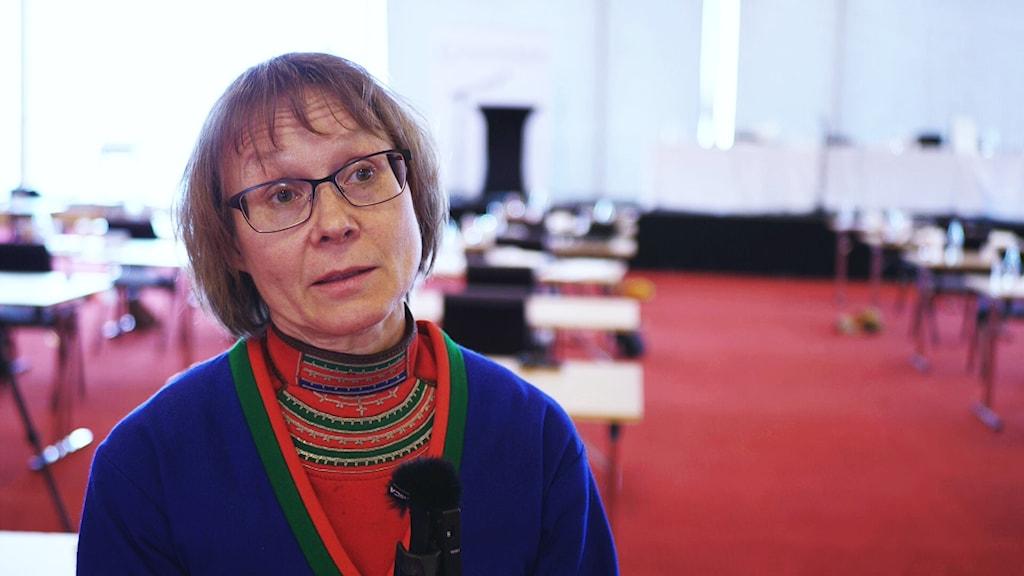 Marita Stinnerbom, ordförande i Sametingets rennäringsnämnd